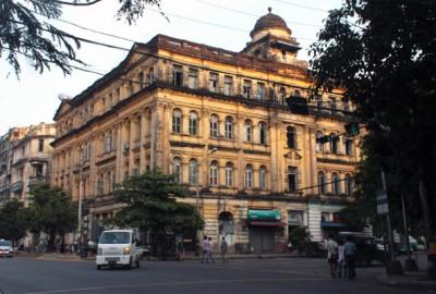 Dans les rues de Rangoun